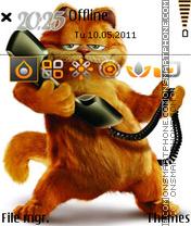 Funny Cat 05 theme screenshot