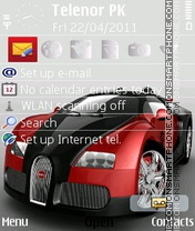 Скриншот темы Buggati