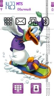 Скриншот темы Donald Duck 16