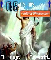 Jesus Risen2 Coptic es el tema de pantalla