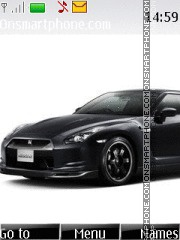 Nissan GT-R 01 theme screenshot