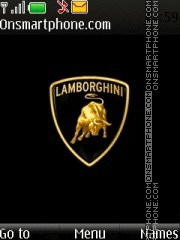 Lamborghini Logo 01 theme screenshot