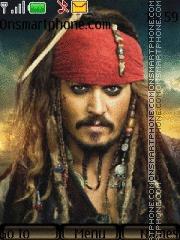 Capture d'écran Johny Depp thème