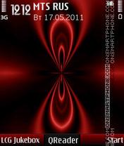 Convergence theme screenshot