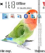 Parrot 07 Theme-Screenshot