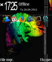 Cameleon Era theme screenshot