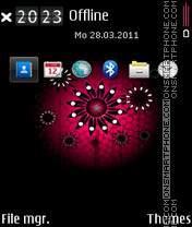 Sun flower 02 Theme-Screenshot
