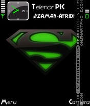 Superman Dark Green es el tema de pantalla