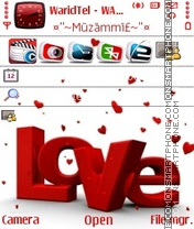 Love 10 theme screenshot