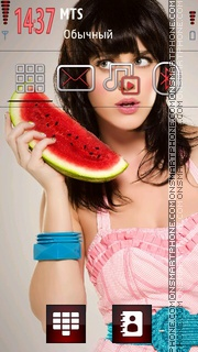 Katy Perry Cute Theme-Screenshot