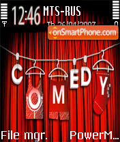 Comedy Club 01 es el tema de pantalla