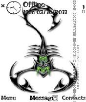 Scorpion theme screenshot
