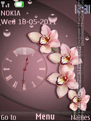 Orchids theme screenshot