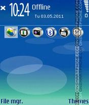 Acid Sonic Style theme screenshot