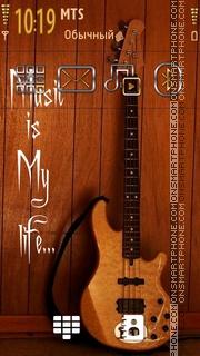 Music Life 03 theme screenshot