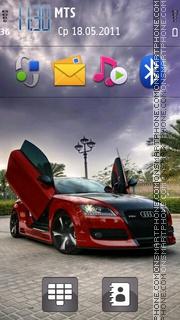 Tuned Cars theme screenshot