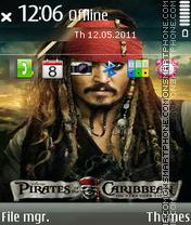Скриншот темы Pirates of the Caribbean: On Stranger Tides