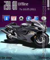 Bike 12 theme screenshot