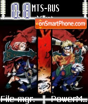 Naruto 02 theme screenshot