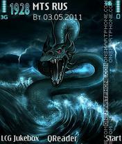 Sea-Dragon theme screenshot