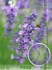 Lavanda theme screenshot