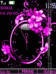 Abstr clock Theme-Screenshot