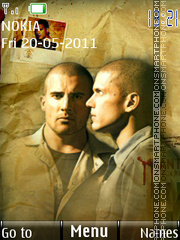 Prison Break 15 theme screenshot