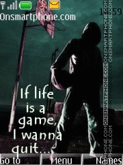 Life is a game 01 theme screenshot