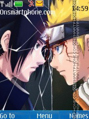 Naruto Vs Sasuke 09 theme screenshot