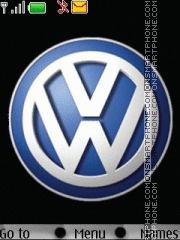 Volkswagen Logo theme screenshot