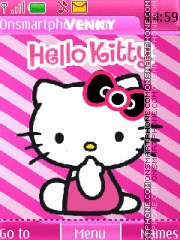 Hello Kitty 42 theme screenshot