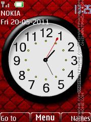 Analog Clock 04 Theme-Screenshot