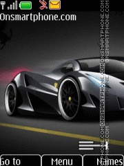 Ferrari with Tone 01 theme screenshot