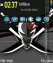 Bleach Logo es el tema de pantalla