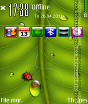 Green Latest icons theme screenshot