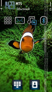 Fish 10 theme screenshot