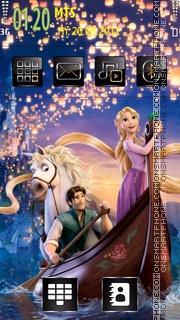 Tangled 01 theme screenshot