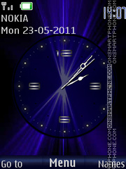 Shimmering Hours By ROMB39 theme screenshot