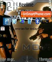 Скриншот темы Tomb Raider 01