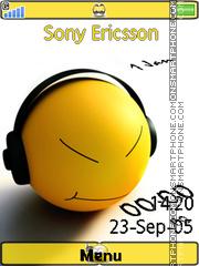 Smiley Clock 02 es el tema de pantalla