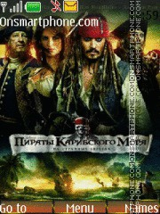 Pirates of the Caribbean: On Stranger Tides 01 theme screenshot