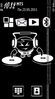 Dj music 01 tema screenshot