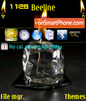 Candle 9 theme screenshot