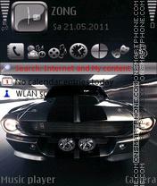 Shelby GT500 theme screenshot