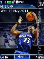 Michael Jordan 5-6 th theme screenshot
