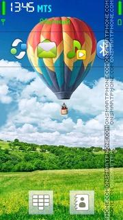 Air Balloon theme screenshot