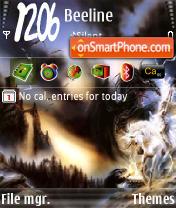 Скриншот темы War of a Fantasy