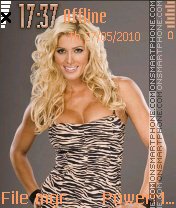 Torrie Wilson 01 theme screenshot
