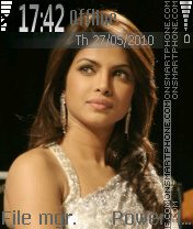 Priyanka Chopra 10 theme screenshot