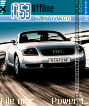 Audi 20 theme screenshot
